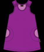 Maxomorra - Klänning lila velour