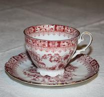 Seltman Weiden - Porslin - Theresia - Röd - Kaffegods