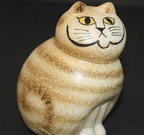 Keramikstudion - Lisa Larson - Katt - Mia mini brun