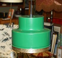 Lampa - Pendel - Plåtlampa - Grön