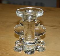 Pukeberg - Ljusstake  - Glas