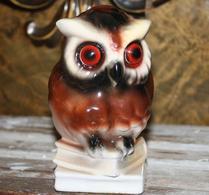Uggla - Keramik - Bokstöd