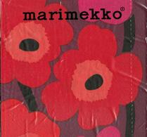 Marimekko - Pappersservett - Unikko - Lila/röd