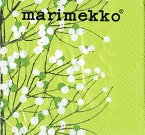 Marimekko - Pappersservett - Lumimarja - Grön