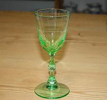 Glas - Gröntonat - Vinglas - Starkvinsglas