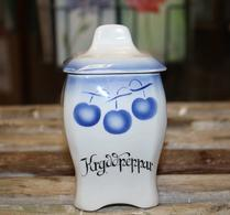 Gefle - Porslin - Speceriburk - Kryddpeppar - Blå