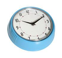 Färg & Form - Klocka - Plåt - 50-tal - Turkos