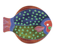 Lisa Larson - Skärbräda - Fisk