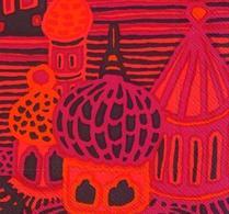 Marimekko - Pappersservett - Kumiseva - Röd