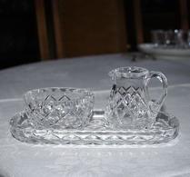 Glas - Kristall - Rutslipat - Socker & Grädde