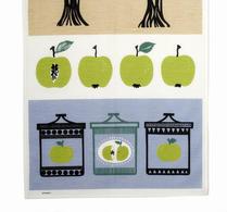 Almedals - Kökshandduk - Äppelsylt - Grön