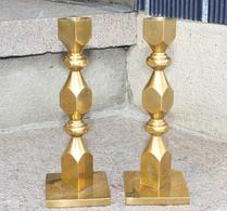 Metallslöjden - Gusum - Mässing - Ljusstakar