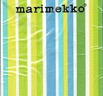 Marimekko - Pappersservett -  Onnellinen