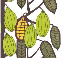 Marimekko - Servett - Kakao - Kaakaopuu