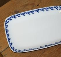 Rörstrand - Porslin - Swedish Blue - Uppläggningsfat