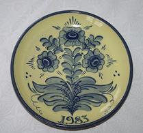 Nittsjö - Keramik - Tallrik - 1983