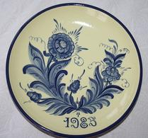 Nittsjö - Keramik - Tallrik - 1985