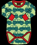 "Maxomorra - Barnkläder - Body - ""Round Cars"""