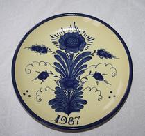 Nittsjö - Keramik - Tallrik - 1987