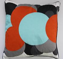 H. Skjalm P - Kudde - Kuddvar - Bob - Orange-mint