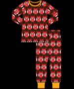 "Maxomorra - Barnkläder -  Pyjamas  -""Röd Uggla"""