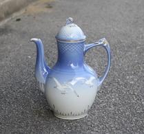 Bing & Grøndahl - Porslin - Blå Måsen - Kaffekanna