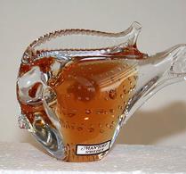 Mantorp - Glas - Fisk - Gulorange