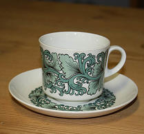 Arabia - Porslin - Kaffekopp 70-tal - retro