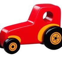 Barn - Lek - Traktor röd