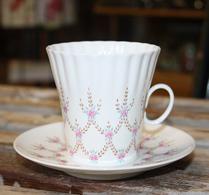 Porslin - Kaffegods - Rosa - USSR