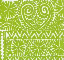 Marimekko - Servett - Pappersservett - Tulipunainen - Grön