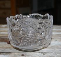 Glas - Skål - Körsbärsdekor