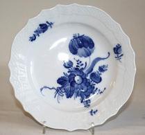 Kunglig Dansk - Porslin - Blå blomster - Assiett 1625