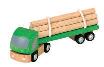 Timmerbil i trä från PlanToys