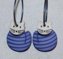 K-form - Örhänge - Katter