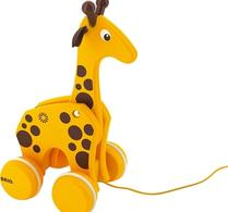 BRIO Giraff dragdjur