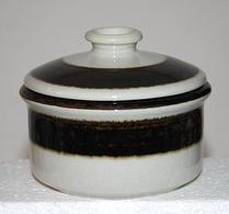 Arabia - Keramik -  Karelia - Sockerskål