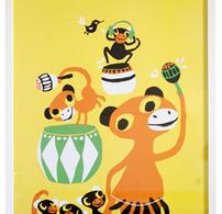 Littlephant - Plansch - Print - Tryck - Bongo Party