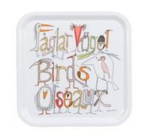 Almedahls - Fåglarna berättar - Bricka