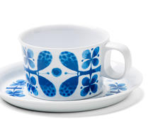Opto Design - Melamin - Blues - Stig Lindberg - Kaffegods