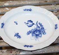 Royal Copenhagen - Porslin - Blå blomster - Uppläggningsfat 1556