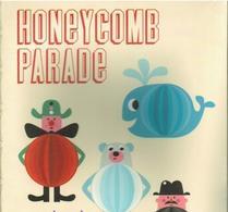 Ingela P Arrhenius - Honeycombs -Honeycomb parade gul