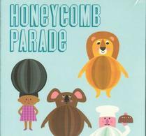 Ingela P Arrhenius - Honeycombs - Honeycomb Parade blå