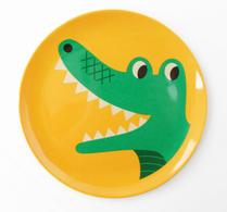 OMM Design - Ingela P Arrhenius - Barntallrik - Melamin - Krokodil
