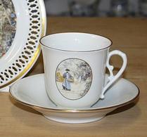 Bing & Gröndahl - Porslin - Carl Larsson kaffeset motiv nr 8
