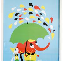 Littlephant - Plansch - Print - Tryck - Rain