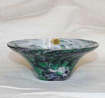 Tre Bockar - Glas - Skål - Grön