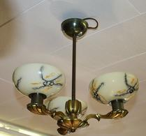 Taklampa - Lampa med glaskupor