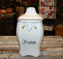 Gefle - Porslin - Speceriburk - Risgryn - Brun