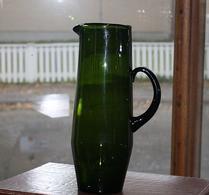 Glas - Kanna - Bringare - Mossgrön